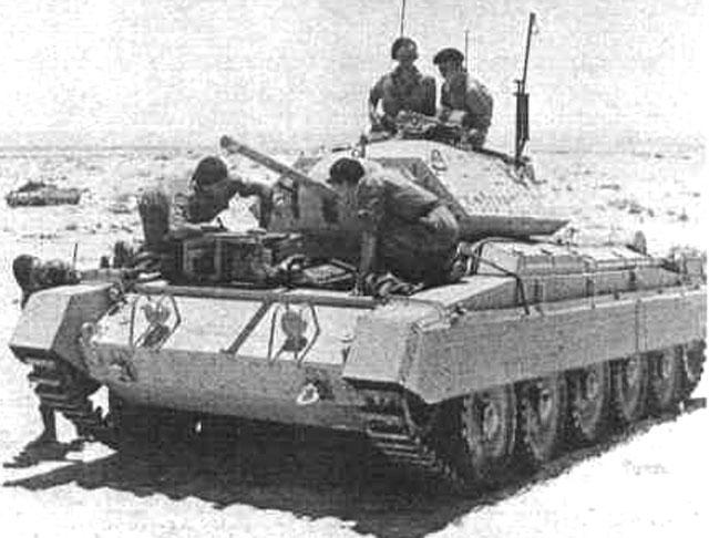 tanke CRUSADER DivCav05