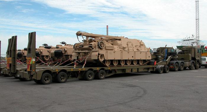 The Australian M1a1 Abrams By Paul D Handel