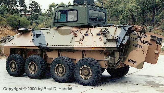 Aslav The Australian Light Armoured Vehicle Programme By