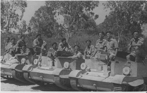 Australian Armour On Cyprus By Paul D Handel