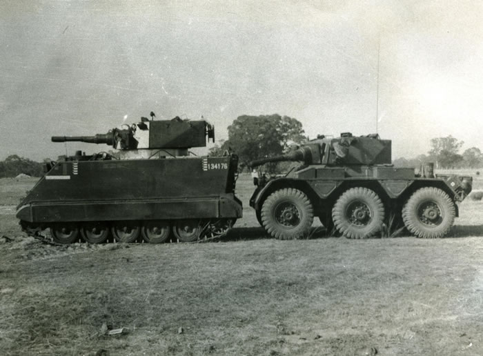 M113A1 Fire Support Vehicle by Paul D  Handel