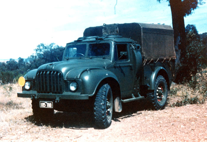 the humber 1 ton ct truck in australian service by paul d