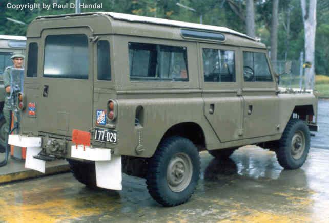 Land Rover Part Three Series 2a 109 Inch Wheelbase