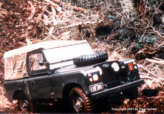 Landrovers in Australian Army Service Part One by Paul Handel